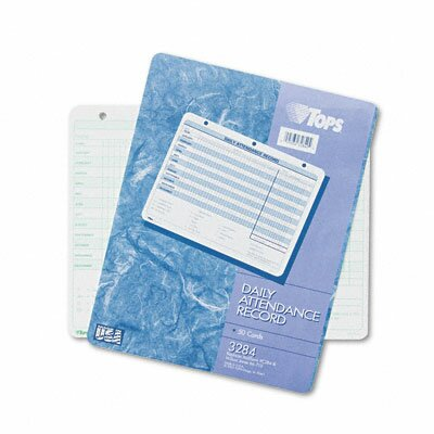 Tops Business Forms Daily Attendance Card, 50 Forms