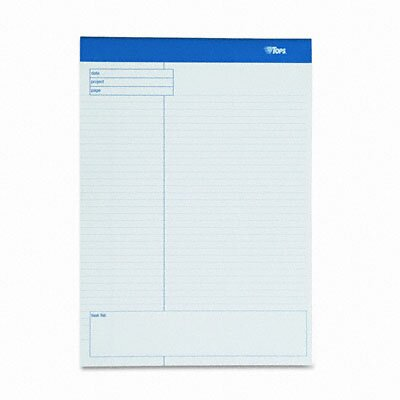 Tops Business Forms Docket Gold Planning Pad, Wide Rule, 4 40-Sheet Pads/Pack