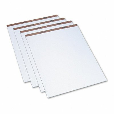 Tops Business Forms Easel Pads, Quadrille Rule, 50-Sheet Pads, 4 Pads/Carton