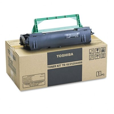 Toshiba TK18 Toner Cartridge, Black