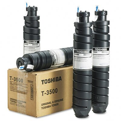 Toshiba T3500 Toner, 13500 Page-Yield, 4/Pack