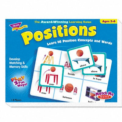 Trend Enterprises Positions Match Me Puzzle