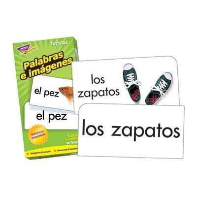 Trend Enterprises Palabras E Flash Cards