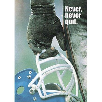 Trend Enterprises Never Never Quit Poster
