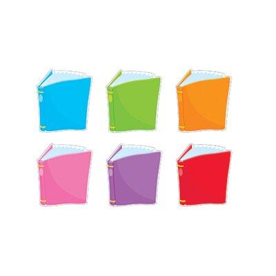Trend Enterprises Bright Books Variety Classic Bulletin Board Cut Outs