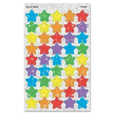 Trend Enterprises Super Stars Super Spots Sparkle Sticker