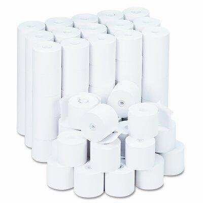 Universal® Adding Machine/Calculator Roll, 16 lbs, 100/carton