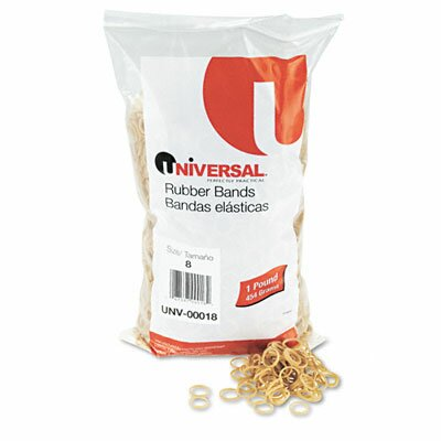 Universal® Rubber Bands, 5000 Bands/1 lb Pack