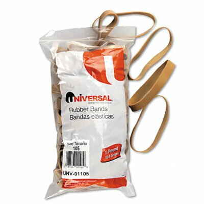 Universal® Rubber Bands, 55 Bands/1 lb Pack