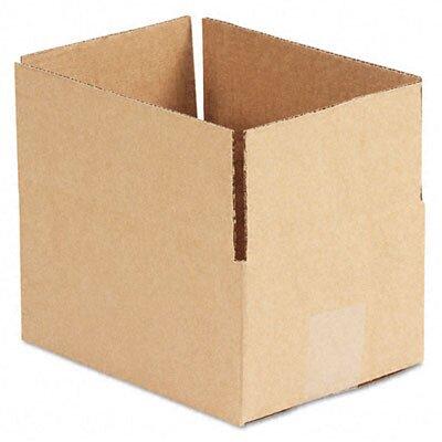 "Universal® Corrugated Kraft Fixed-Depth Shipping Carton, 25/Bundle (22.5"" H x 10.5"" W x 7"" D)"