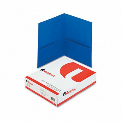 Universal® Two-Pocket Portfolio, 25/Box