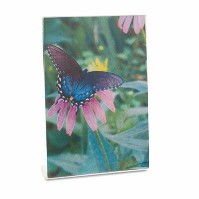 Universal® Clear Self-Standing Desk Frame for 5 X 7 Insert, 3/Pack