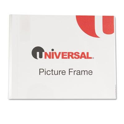 Universal® Clear Self-Standing Desk Frame for 8 1/2 X 11 Insert, 3/Pack