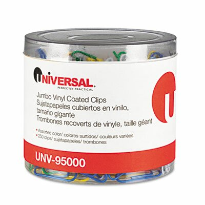 Universal® Paper Clips, 250/Pack