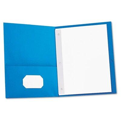 Universal® Two-Pocket Portfolios with Tang Fasteners, 11 X 8-1/2, 25/Box