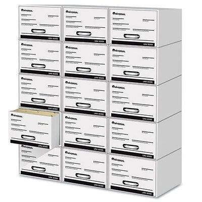 Universal® Heavy-Duty Storage Box Drawer, Letter, 6/Carton