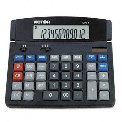 Victor Technology Business Desktop Calculator, 12-Digit Lcd
