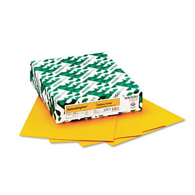 Wausau Papers Astrobrights Colored Paper, 24Lb, 8-1/2 X 11, 500 Sheets/Ream
