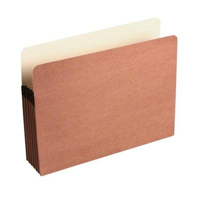 "Wilson Jones Redrope File Pocket w/Manila Lining, 5 1/4"" Exp., Letter, 1/ea"