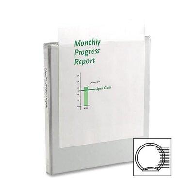 """Wilson Jones Economy Round Ring View Binder, 11 X 8-1/2, 1/2"""" Capacity"""