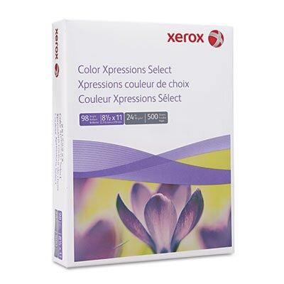 Xerox® Digital Color Xpressions Laser Paper, 98 Brightness, 24lb, Letter, 500 Sheets