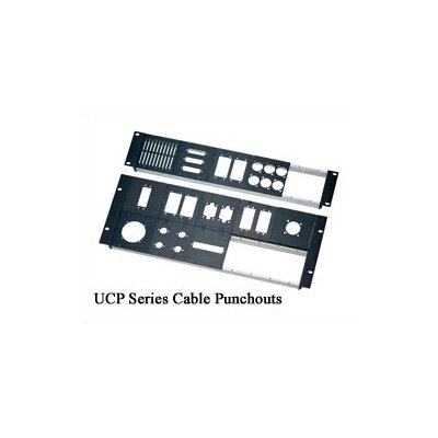 """Middle Atlantic UCP Series 3/8"""" D Cable Punchouts"""