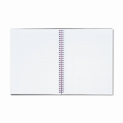 Mead Polypropylene Twinwire Notebook, Margin Rule, 70 Sheets/Pad