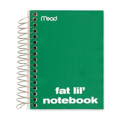 """Mead Notebook, College Ruled, 200 Sheets, 5-1/2""""x4"""", Assorted"""