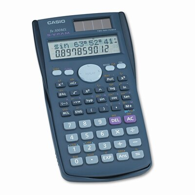 Casio® Fx-300Ms Scientific Calculator, 10-Digit Lcd