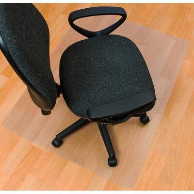 EcoTex Hard Floor Rectangular Edge Chair Mat by FLOORTEX