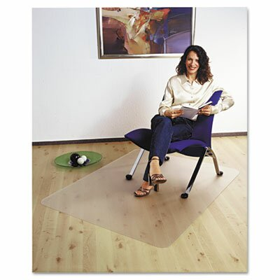 Cleartex Ultimat Polycarbonate Chair Mat For Hard Floors, 47 X 35 by FLOORTEX