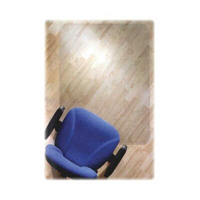 Floortex Cleartex Ultimat Polycarbonate Chair Mat For Hard Floors, 48 X 79