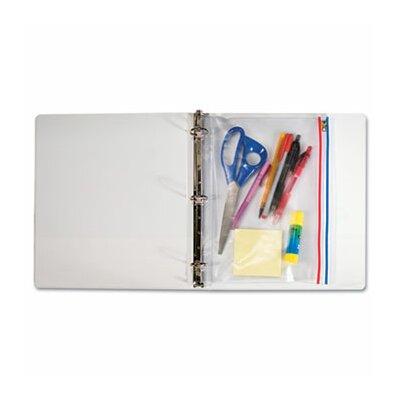 Advanced Formulations Angler'S Zip-All Ring Binder Pocket, 8 1/2 X 11