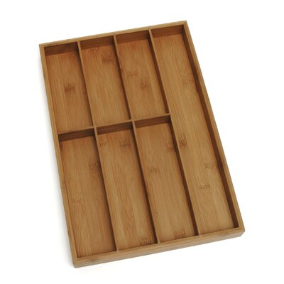 Bamboo Flatware Organizer by Lipper International