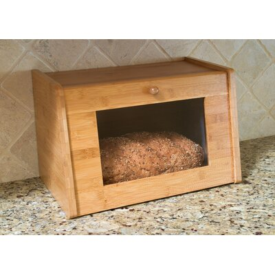 Bread Box with Window Door by Lipper International