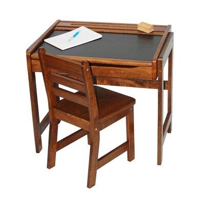 Lipper International Kids Desk With Chalkboard Top Amp Chair