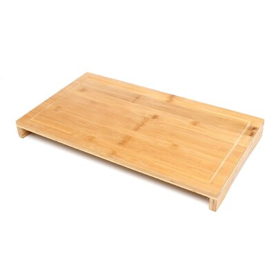 """Lipper International Bamboo 20.5"""" x 11.5"""" Over The Sink & Stove Cutting Board"""