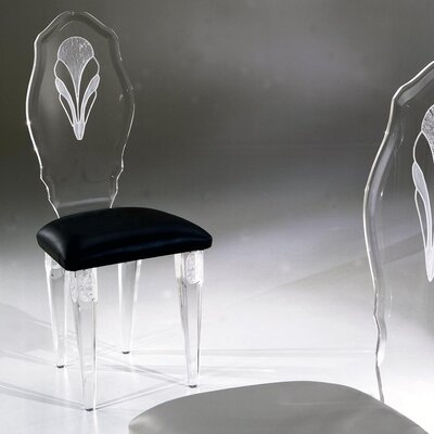 Shahrooz Palace Acrylic Side Chair