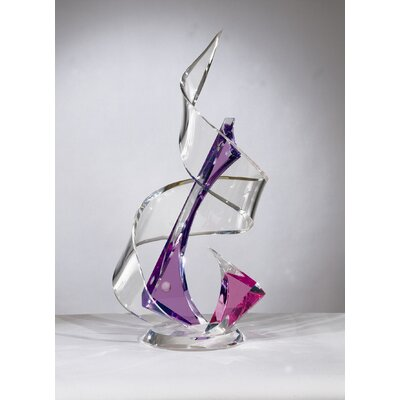 Sculptures and Art Pieces Acrylic Tornado Sculpture by Shahrooz