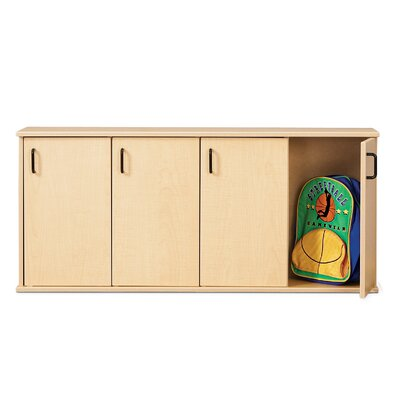 Young Time 5-Section Stackable Locker