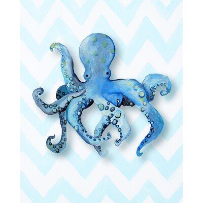 Cici Art Factory Nautical Octopus Paper Print