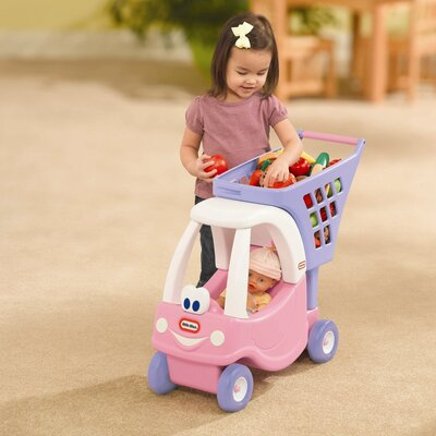 Little Tikes Cozy Coupe Shopping Cart Ride-On I