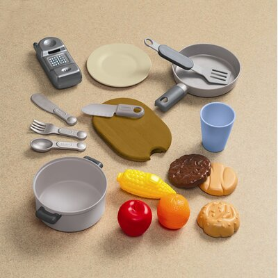 Little Tikes 18 Piece Gourmet Prep N Serve Kitchen Set