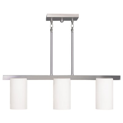Astoria 3 Light Kitchen Island Chandelier by Livex Lighting