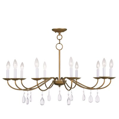 Mercer 10 Light Candle Chandelier Product Photo