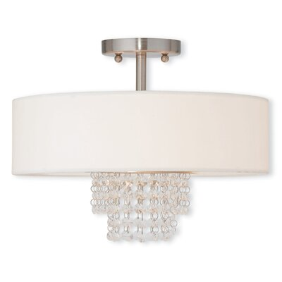 Carlisle 3 Light Semi-Flush Mount Product Photo