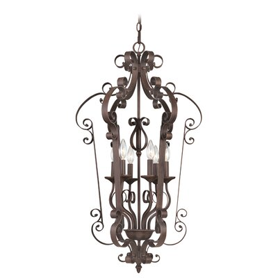 Livex Lighting Manchester 6 Light Foyer Pendant
