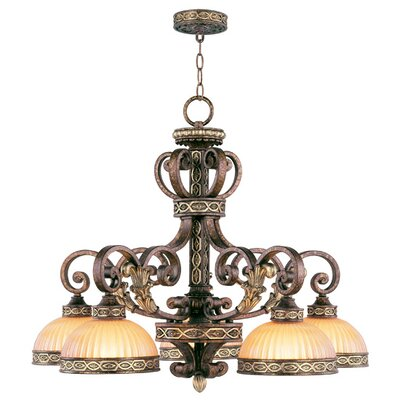 Seville 5 Light Chandelier Product Photo