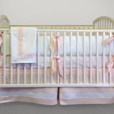 Ava 4 Piece Crib Bedding Set by Bebe Chic