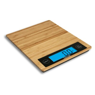 Bamboo Digital Kitchen Scale by Taylor